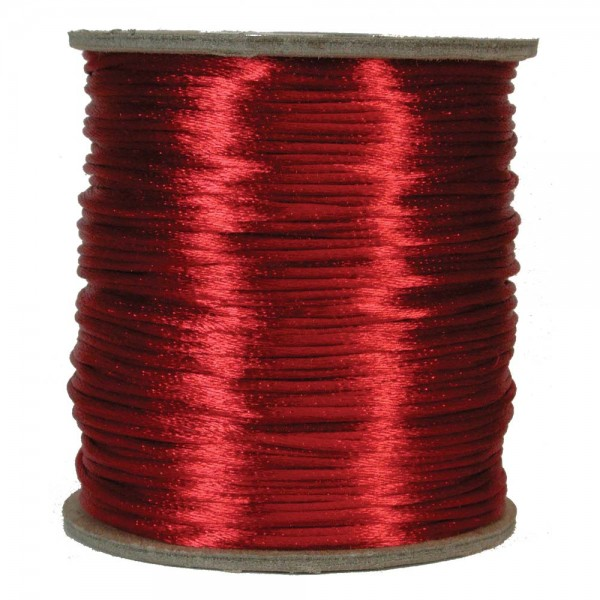 2mm rattail - Red (m)
