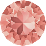 SWAROVSKI 1088 Xirius Chaton ss39  Rose Peach (262) F (x1)