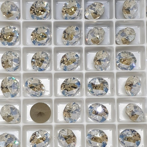 SWAROVSKI 1088 Xirius Chaton ss39 Crystal Moonlight ( 001 MOL) F (x1)