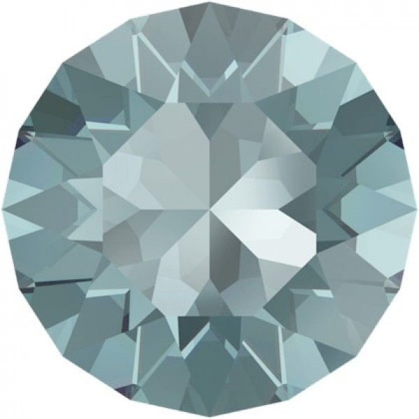 SWAROVSKI 1088 Xirius Chaton ss39  Aquamarine (202) Ignite unfoiled (x1)