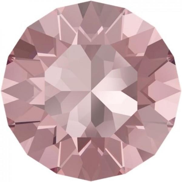 SWAROVSKI 1088 Xirius Chaton ss39  Light Rose (223) Ignite unfoiled (x1)
