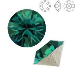 SWAROVSKI 1088 Xirius Chaton 8mm Emerald F (x1)