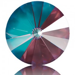 SWAROVSKI 1122 Rivoli 14mm Crystal Burgundy DeLite (001 L132D) (x1)