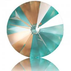 SWAROVSKI 1122 Rivoli 14mm Crystal Cappuccino DeLite (001 L133D) (x1)