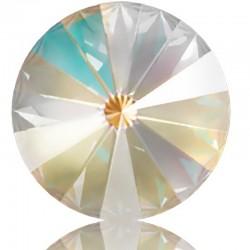 SWAROVSKI 1122 Rivoli 14mm Crystal Light Grey DeLite (001 L129D) (x1)