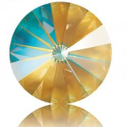 SWAROVSKI 1122 Rivoli 14mm Crystal Ochre DeLite (001 L131D) (x1)