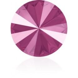SWAROVSKI 1122 Rivoli 12mm Crystal Peony Pink (001 L113S) (x1)