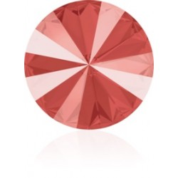 SWAROVSKI 1122 Rivoli 12mm Crystal Light Coral (001 L116S) Unfoiled (x1)