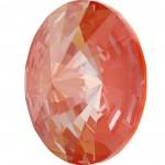 SWAROVSKI 1122 Rivoli 14mm Crystal Orange Glow DeLite (001 L146D) (x1)