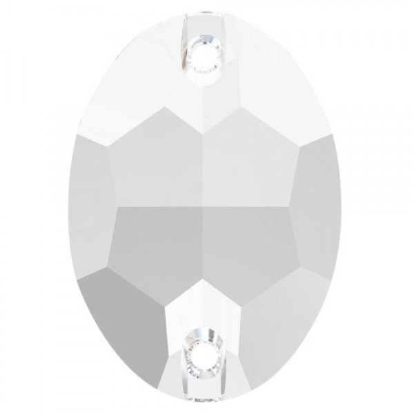 SWAROVSKI 3210 Oval Flat Sew-on Stone 16x11mm Crystal (001) F (x1)