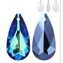 SWAROVSKI 6100 24x12 mm Crystal Bermuda Blue (x1)