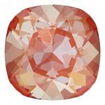 4470 10mm Cushion Fancy Stone Crystal Orange Glow DeLite (001 L146D) (x1)