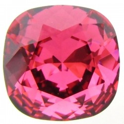 SWAROVSKI 4470 10mm Cushion Fancy Stone Indian Pink F (x1)