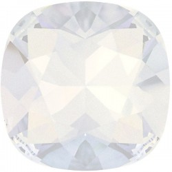 SWAROVSKI 4470 10mm Cushion Fancy Stone White Opal (234) F (x1)