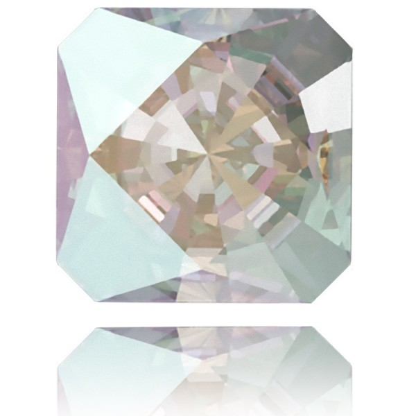 4499 Kaleidoscope Square Fancy Stone 20mm Crystal AB F (x1)