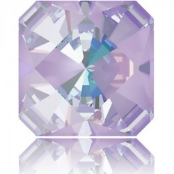 4499 Kaleidoscope Square Fancy Stone 14mm Crystal Lavender DeLite (x1)
