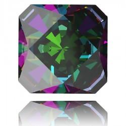 4499 Kaleidoscope Square Fancy Stone 20mm Crystal Vitrail Medium F (x1)