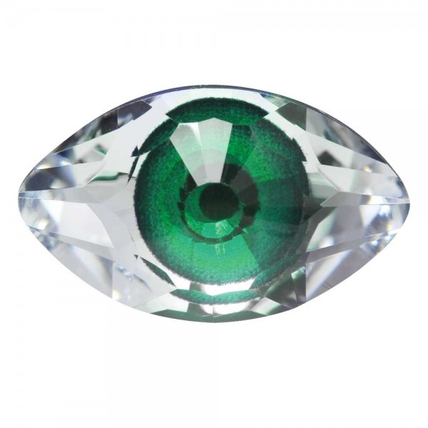 4775 Eye Fancy Stone 18x10,5mm Crystal (001) CAL V SI MD290 F (x1)