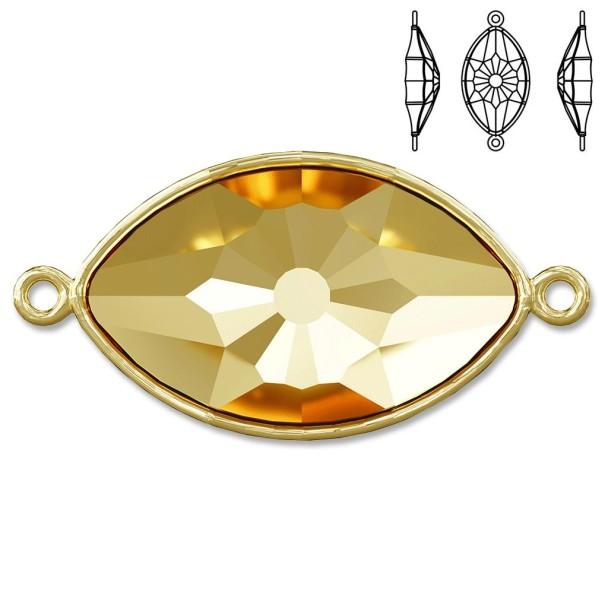 4775/C Eye Fancy Stone Glue in Setting 2H gold