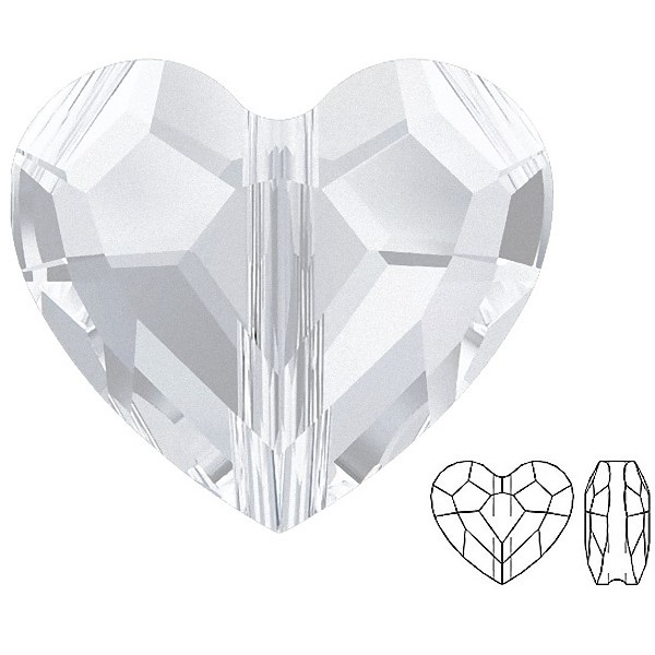 SWAROVSKI 5741 Love Bead 12mm Crystal (x1)