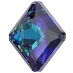 SWAROVSKI 6431 Princess Cut Pendant 16mm Crystal (001) Bermuda Blue (BB) (x1)
