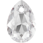 SWAROVSKI 6433 Pear Cut Pendant 16mm Crystal (001) (x1)