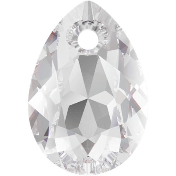SWAROVSKI 6433 Pear Cut Pendant 11.5 mm Crystal (001) (x1)