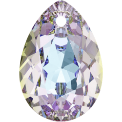 SWAROVSKI 6433 Pear Cut Pendant 11.5 mm Crystal (001) Vitrail Light (VL) (x1)
