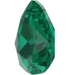 SWAROVSKI 6433 Pear Cut Pendant 11.5 mm Emerald (205) (x1)