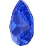 SWAROVSKI 6433 Pear Cut Pendant 16mm Majestic Blue (296) (x1)