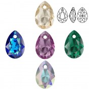 6433 Pear Cut Pendants