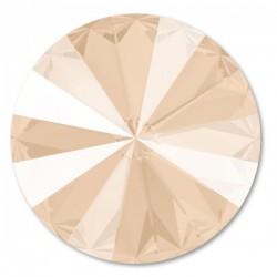 SWAROVSKI Rivoli 12mm Crystal (001) Ivory Cream Unfoiled (x1)