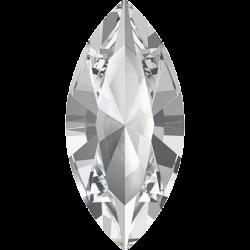 10x5mm SWAROVSKI 4228 Xilion Navette Crystal F (001) (x1)