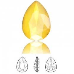 SWAROVSKI 4320 Pear Fancy Stone 14x10mm Crystal Buttercup (x1)