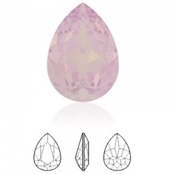 SWAROVSKI 4320 Pear Fancy Stone 14x10mm Rose Water Opal F (x1)