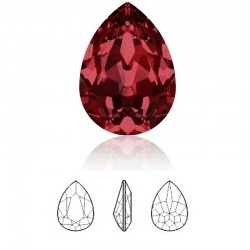 SWAROVSKI 4320 Pear Fancy Stone 14x10mm Siam F (x1)