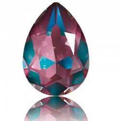 SWAROVSKI 4320 Pear Fancy Stone 14x10mm Crystal Burgundy DeLite (001 L132D) (x1)