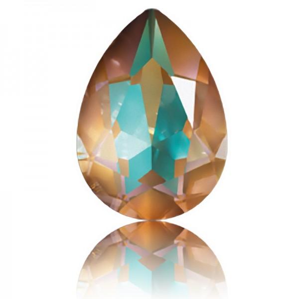 SWAROVSKI 4320 Pear Fancy Stone 14x10mm Crystal Cappuccino DeLite (001 L133D) (x1)