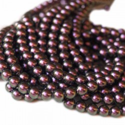Crystal Iridescent Purple Pearl 4mm (001 943) (x10)