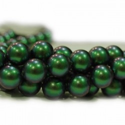 Crystal Scarabaeus Green 5mm (001 946) (x10)
