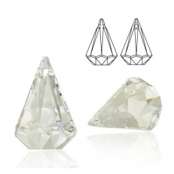SWAROVSKI 6022 Xirius Raindrop Pendant 14mm Crystal (x1)