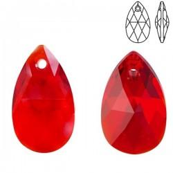 SWAROVSKI 6106 Pear shaped Pendant 22mm Light Siam (227) (x1)
