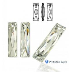 SWAROVSKI 6465 Queen Baguette Pendant 25x7mm Crystal CAL (x1)