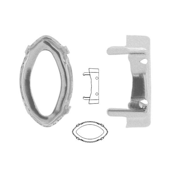 4775/S Eye Fancy Stone Sew-on Setting rhodium