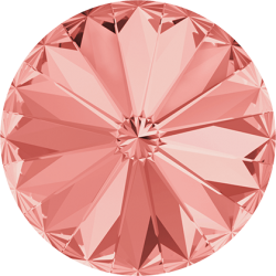 SWAROVSKI 1122 Rivoli 12mm Rose Peach (262) (x1)