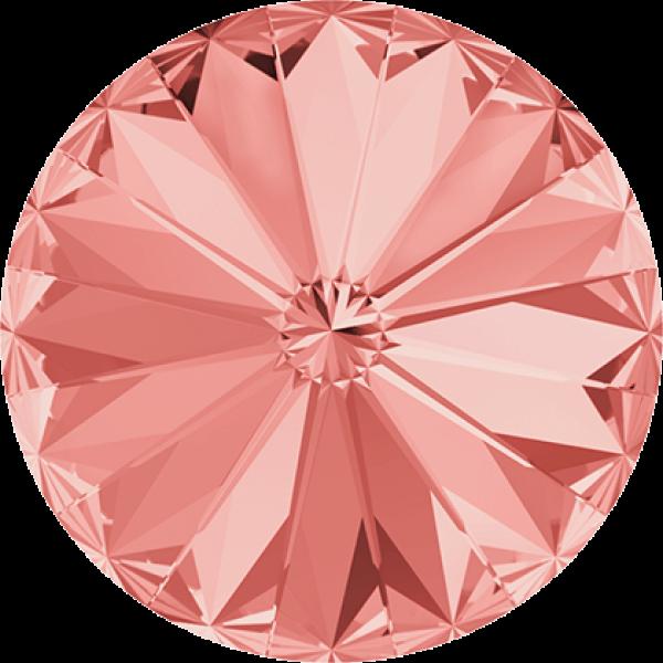 SWAROVSKI 1122 Rivoli 12mm Rose Peach (262) (x1)