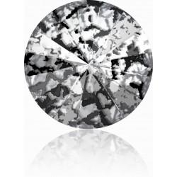 SWAROVSKI Rivoli 12mm Crystal Black Patina F (x1)
