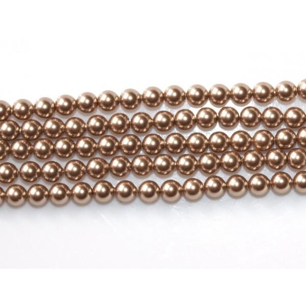 Crystal (001) Bronze (295) Pearl 3mm (x10)