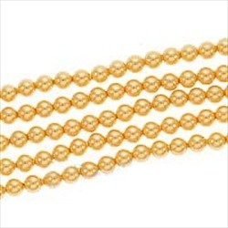 Crystal Gold Pearl 4mm (001 296) (x10)