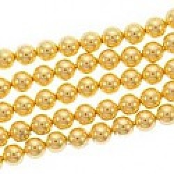 Crystal Gold Pearl 5mm (001 296) (x10)